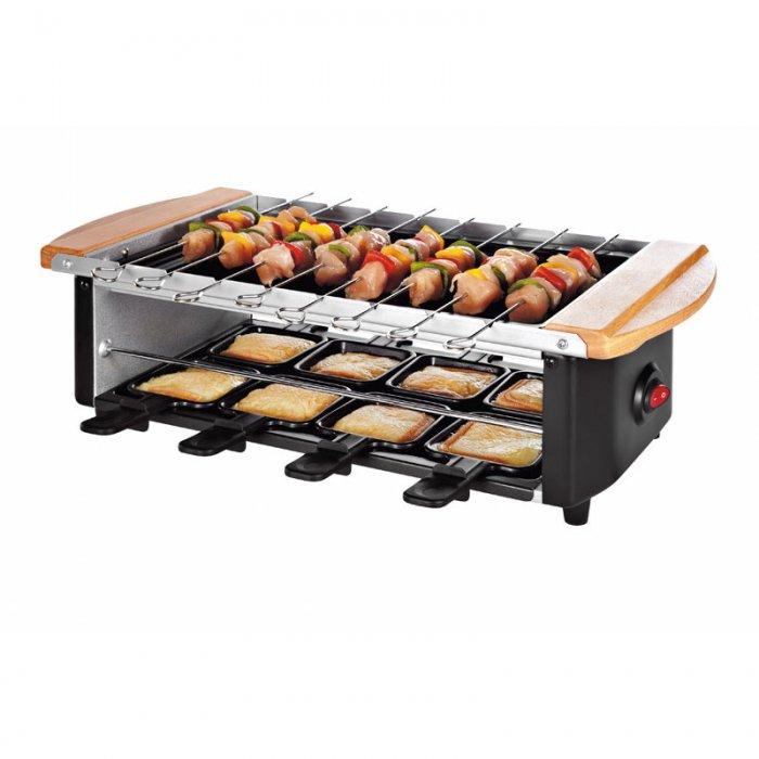 Set Domoclip raclette-brochettes-pierrade