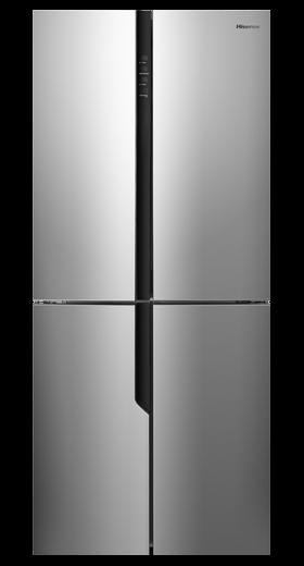 Réfrigérateur congélateur multiportes grande capacité