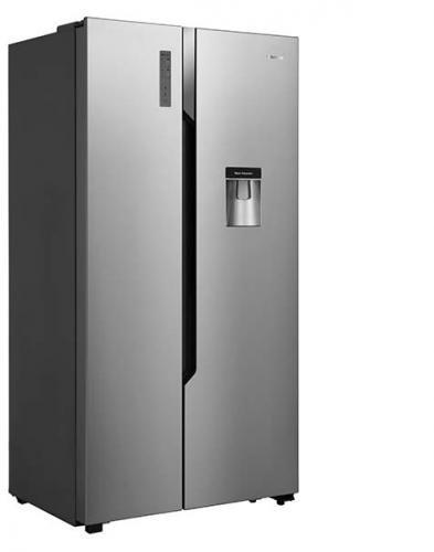 Réfrigérateur Américain double porte inox HISENSE