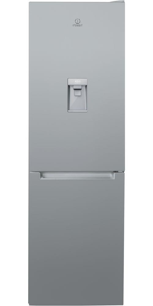 Réfrigérateur congélateur en bas avec distributeur d'eau Indesit