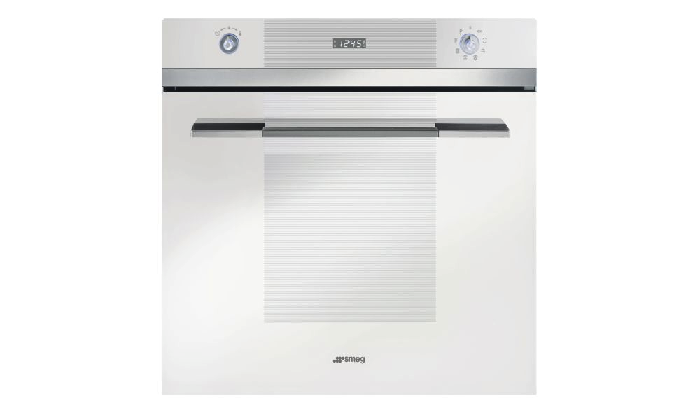 Four esth tique lin a smeg cmc for Refrigerateur beko noir miroir