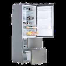 combin r frig rateur haier ventil tiroirs cmc. Black Bedroom Furniture Sets. Home Design Ideas