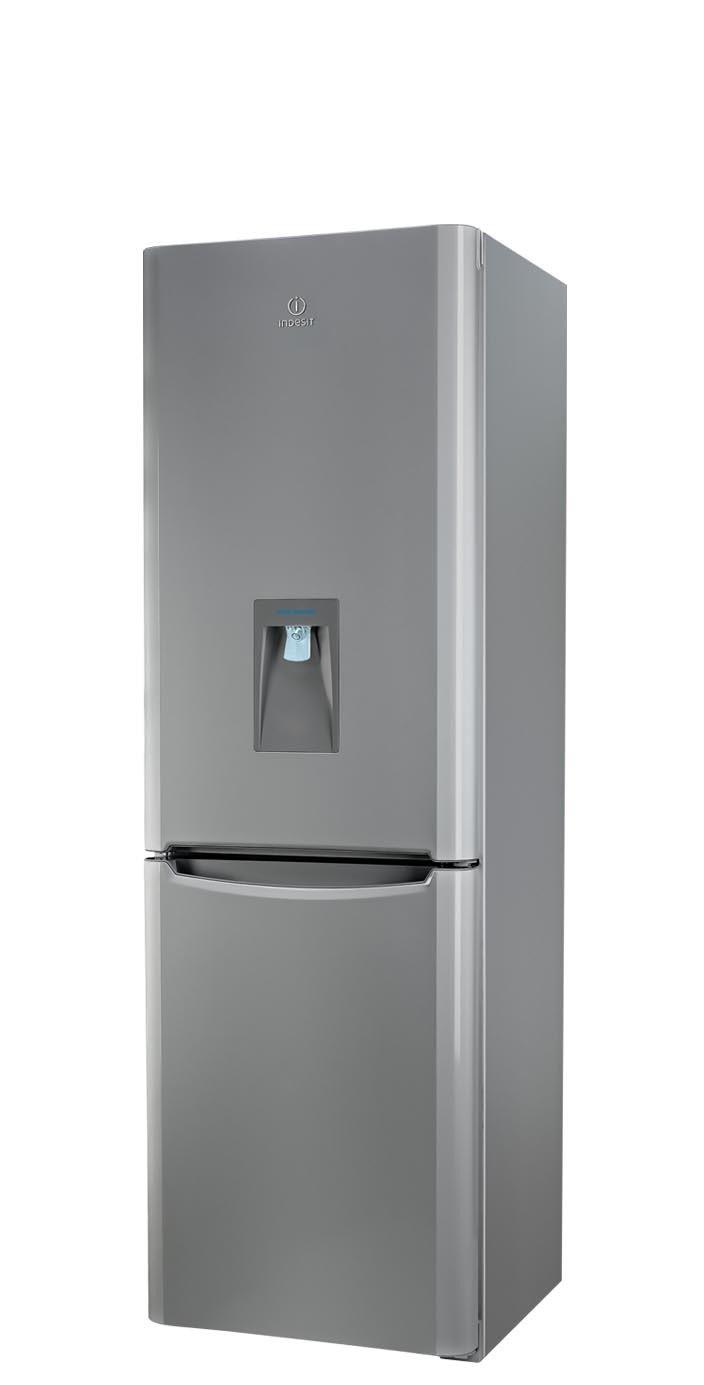 Réfrigérateur congélateur avec distributeur d'eau Indesit