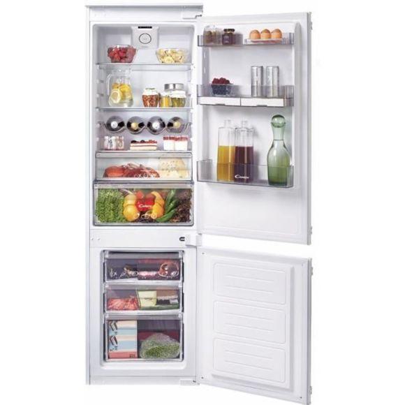 Réfrigérateur intégrable CANDY 1M77 avec congélateur en bas