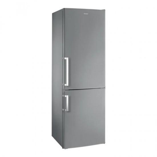 Réfrigérateur congélateur en bas inox petite largeur