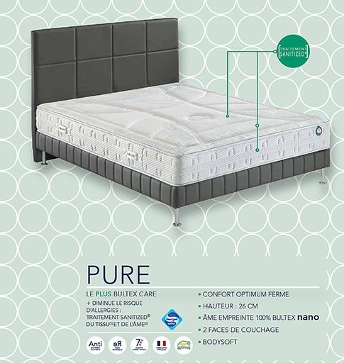 Pack Pure Bultex garantie 7 ans