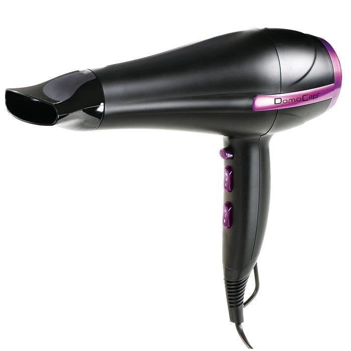 Sèche-cheveux ionique Domoclip
