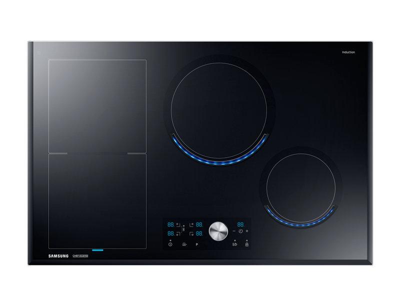 Table de cuisson virtual flame 80cm induction Samsung