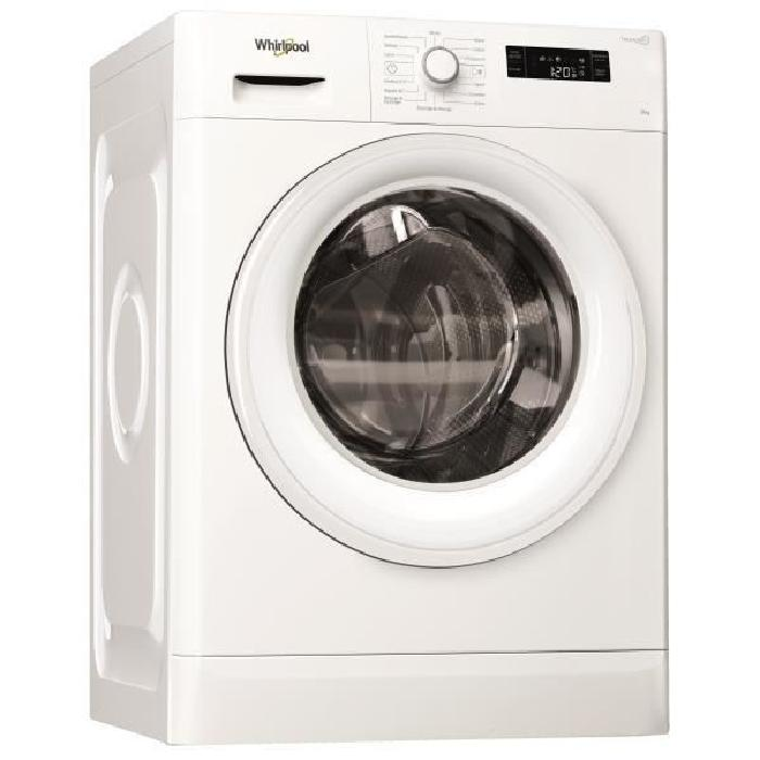Lave linge 9kg Whirlpool avec Fresh care