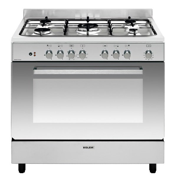 Piano de cuisson mixe 90cm Glem e-Cooker