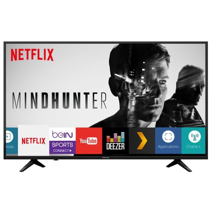 Téléviseur Hisense ULTRA HD 4K Smart TV A+