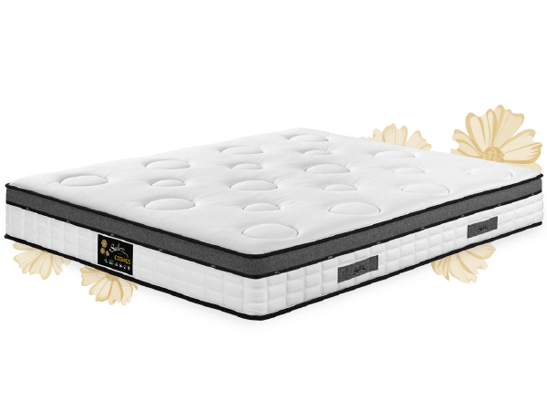 matelas selina cosmos avec surmatelas int gr cmc. Black Bedroom Furniture Sets. Home Design Ideas
