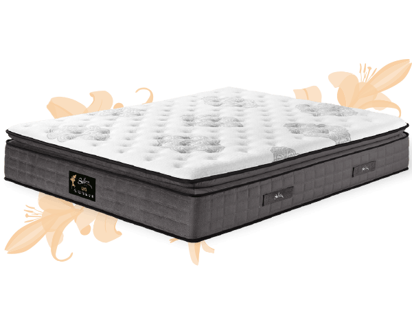 matelas selina lys avec surmatelas latex pulse cmc. Black Bedroom Furniture Sets. Home Design Ideas