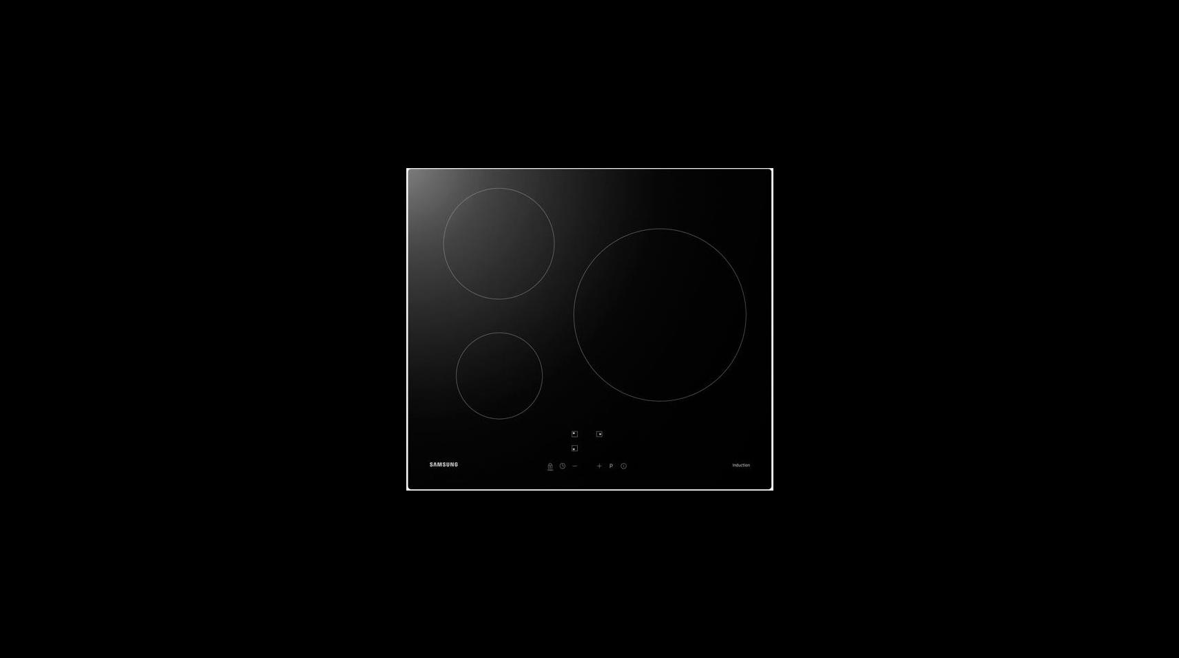 pas mal 9e1c3 05aa6 Table de cuisson induction 3 plaques Samsung - CMC