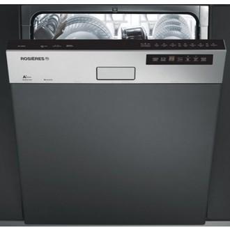 Lave vaisselle intégrable silencieux avec bandeau
