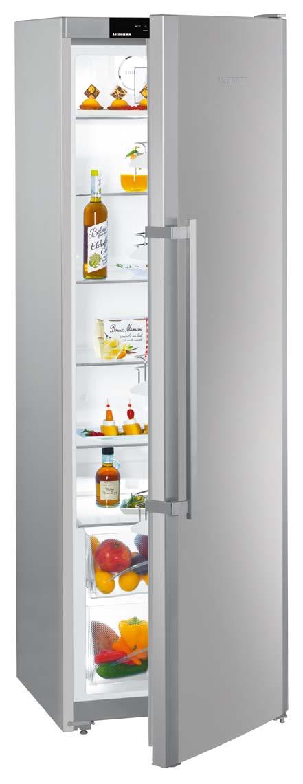 Réfrigérateur LIEBHERR 1 porte inox très grand volume