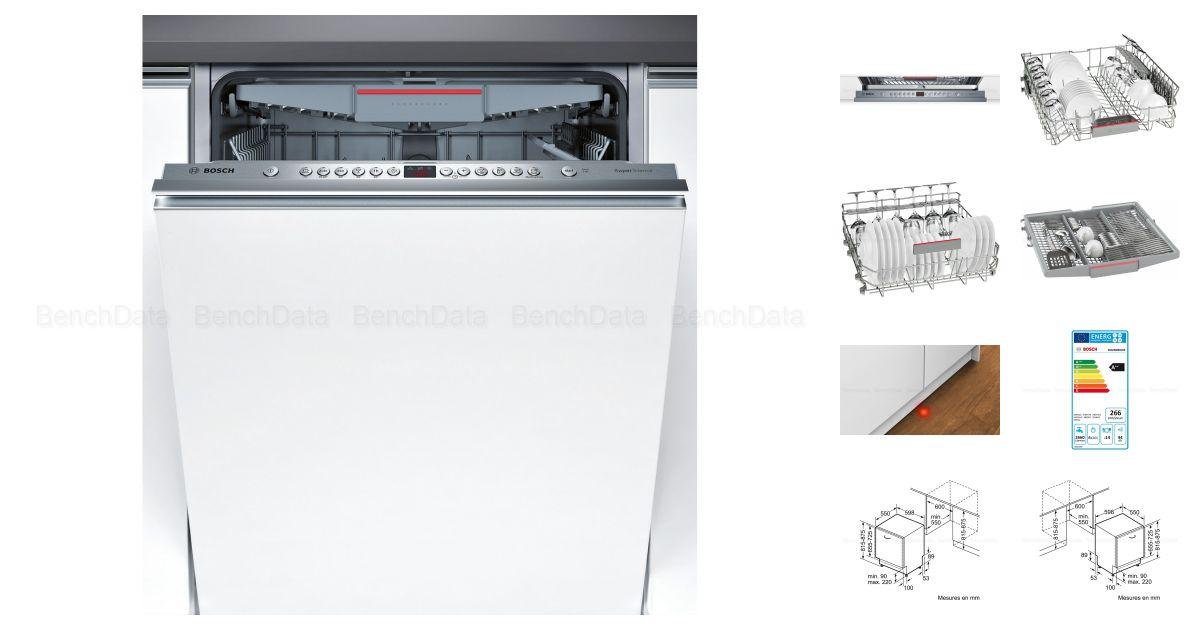 Lave vaisselle avec afficheur digitall Bosch A++